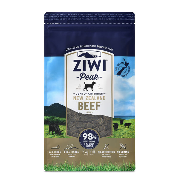 Image of   ZiwiPeak hundefoder med Okse - 2,5 kg.