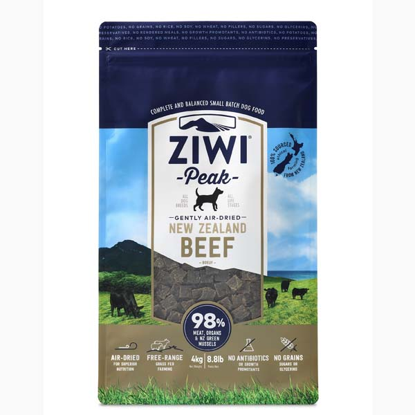 ZiwiPeak hundefoder med Okse - 4 kg.