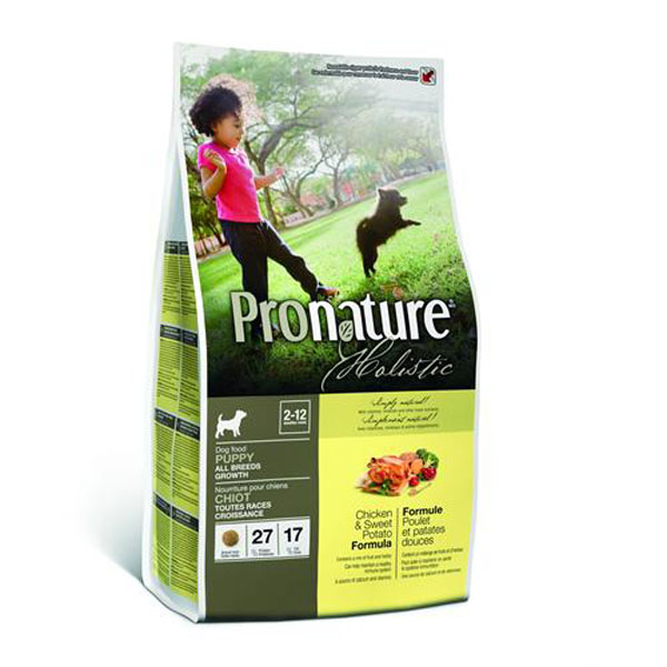 Image of   Pronature Holistic Hvalpefoder, 13,6 kg.