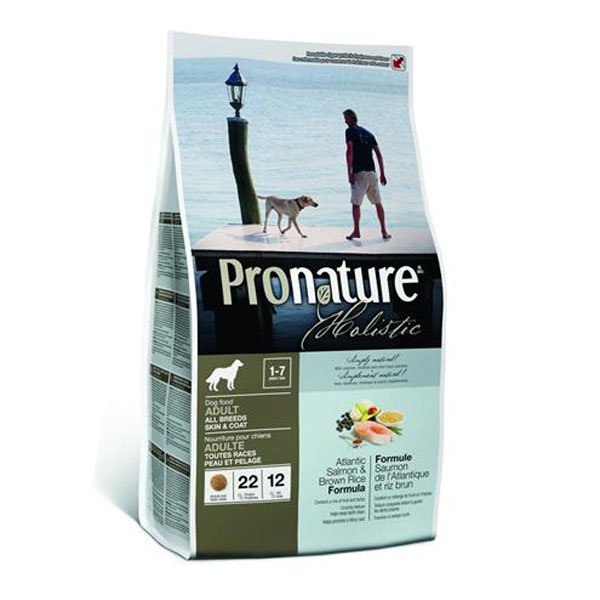 Image of   Pronature Holistic Atlantic Salmon hundefoder, 13,6 kg