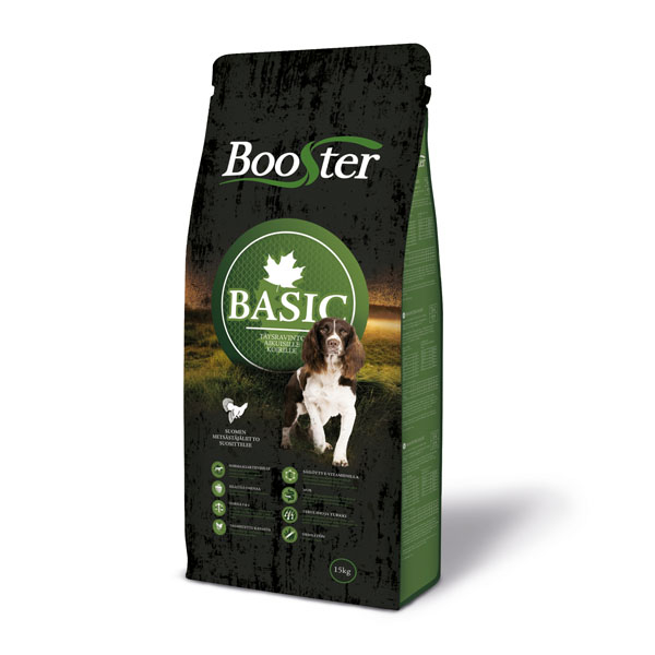 Image of   Booster Basic hundefoder All Breeds, 15kg