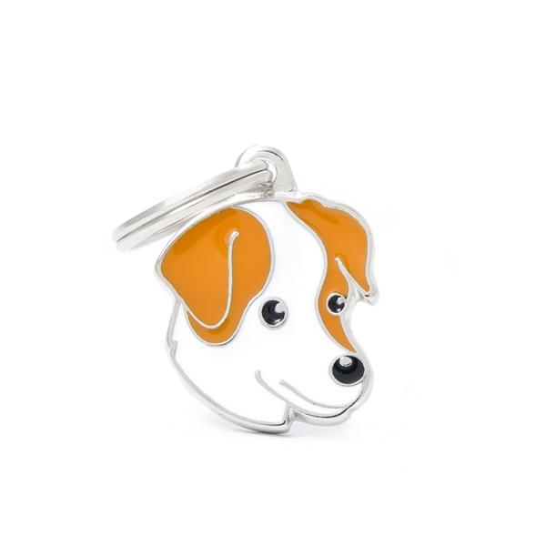 Brun Jack Russel Terrier hundetegn