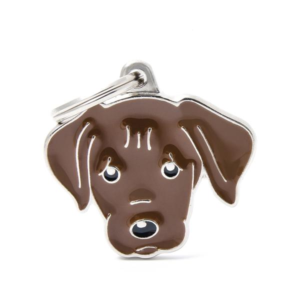 Brun Labrador hundetegn
