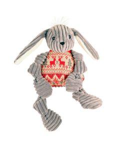Kanin med rød sweater til hunde