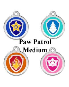 Hundetegn Paw patrol str. M