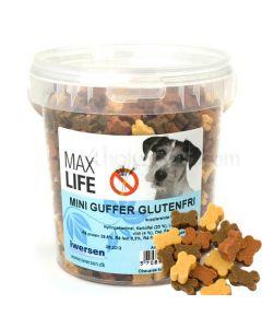 Hundegodbidder, Max Life Mini Guffer 200g ell. 500g Glutenfri