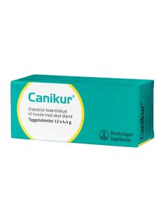 Canicur tyggetabletter 12 stk.