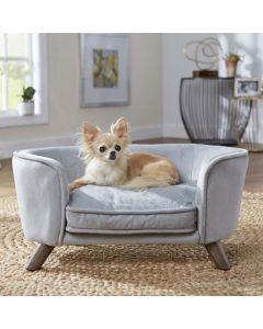 Luksus hundeseng ROMY grå