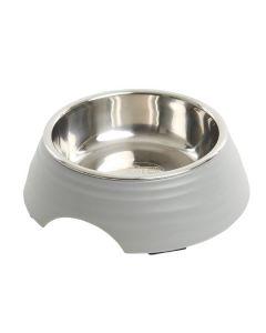 Buster frosted ripple madskål, grå