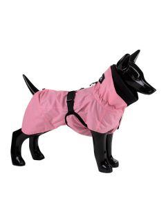Reflekterende hunderegnjakke - Pink