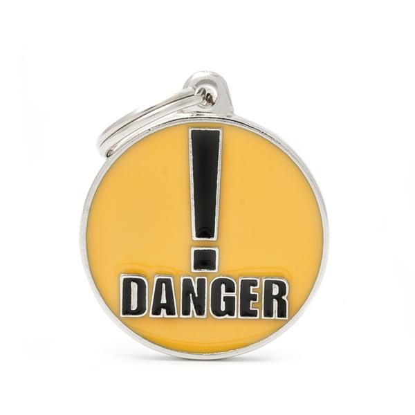 Billede af Danger hundetegn