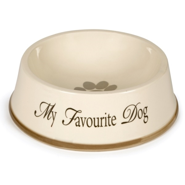 Keramik hundeskål - Designed by Lotte