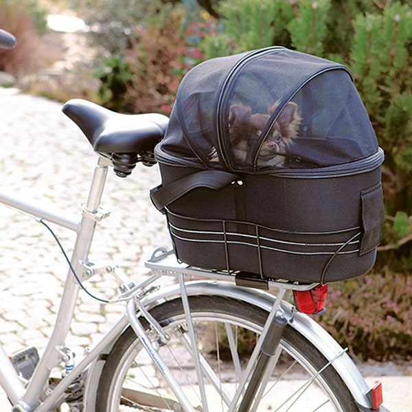 Billede af Cykel taske til hund - bagagebærer