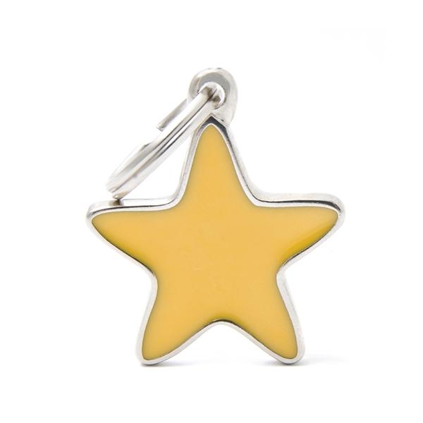 Gul Stjerne hundetegn