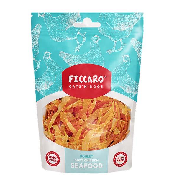 Image of Ficcaro kylling seafood hundegodbidder, 100g