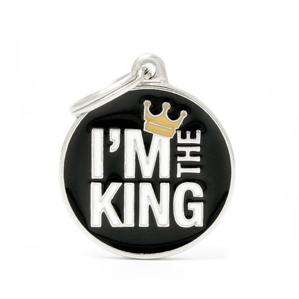 Billede af I am the King hundetegn