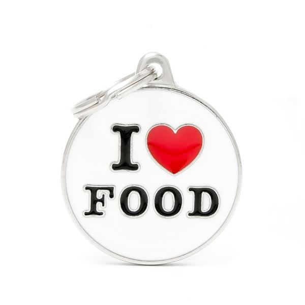 Billede af I Love Food hundetegn