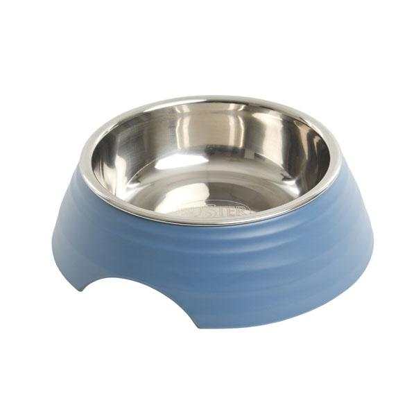 Image of Buster frosted ripple madskål, blå