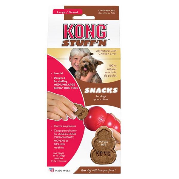 Billede af KONG StuffN snacks, Lever smag - Small