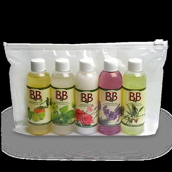 Billede af B&B Økologisk produkter i minitaske
