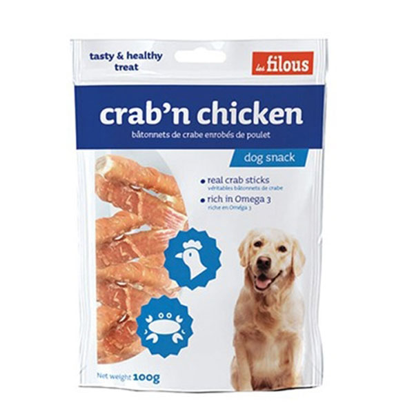 Image of   Les Filous Crapn Chicken, 100g