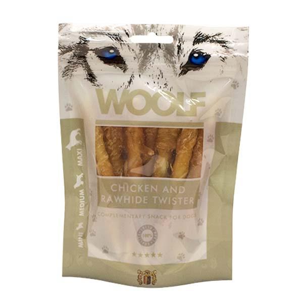 Billede af Hundegodbid Woolf tyggesnack med kylling, 100g