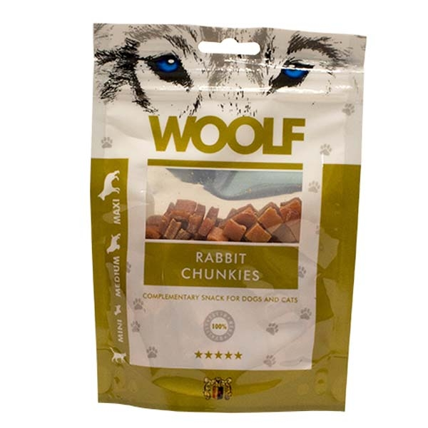 Billede af Hundegodbid Woolf kanin chunkies 100g