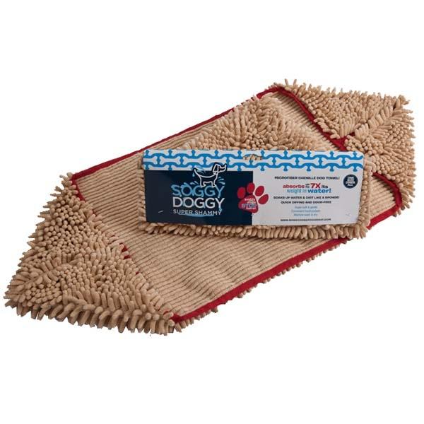 Soggy Doggy Hundehåndklæde, Khaki