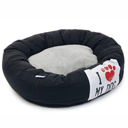 Billede af Flot donut hundeseng, str. 60x60 cm