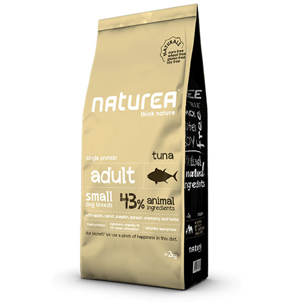 Image of   Naturea Naturals Small Breed Tunfisk, 2kg