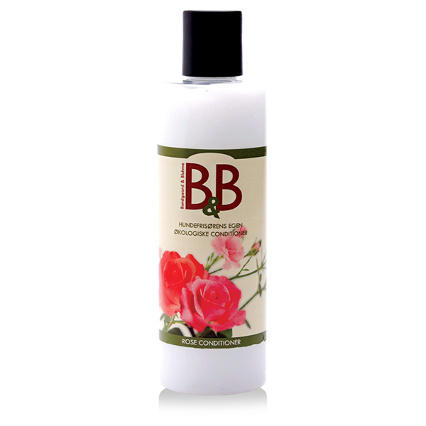 B&B Økologisk Conditioner, Rose