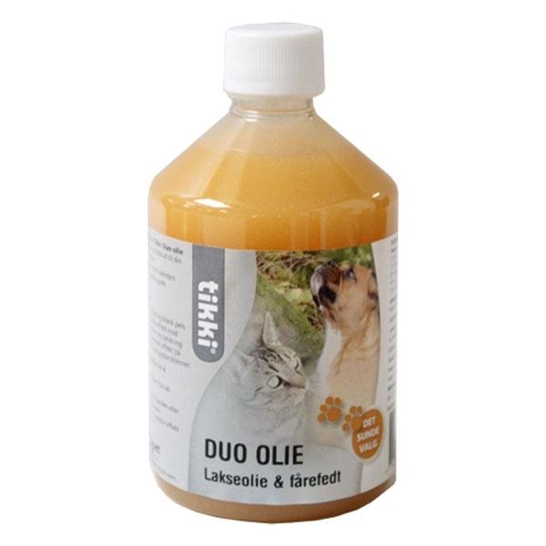 Billede af Tikki Duo Olie, Lakseolie & fårefedt, 0,5 liter