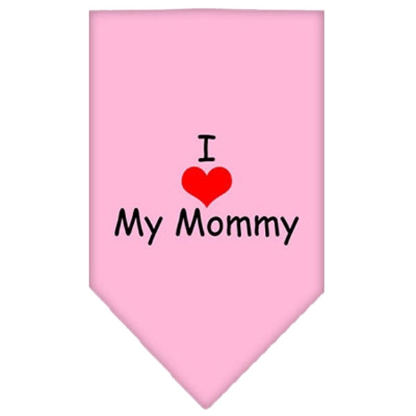 Image of   Bandana - I LOVE MY MOMMY - Lyserød-L