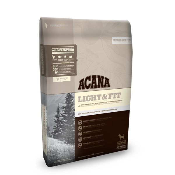 Image of   ACANA hundefoder LIGHT & FIT 2 kg