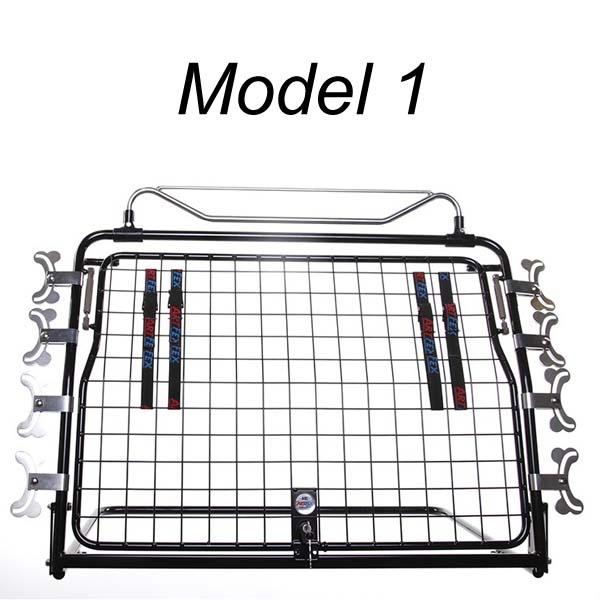 Image of   ArtFex hundegitter, Model 1 med enkelt låge