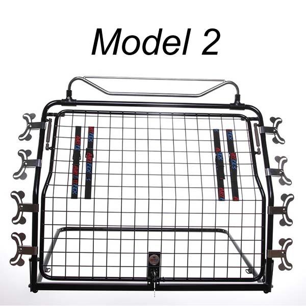 Image of   ArtFex hundegitter, Model 2 med enkelt låge
