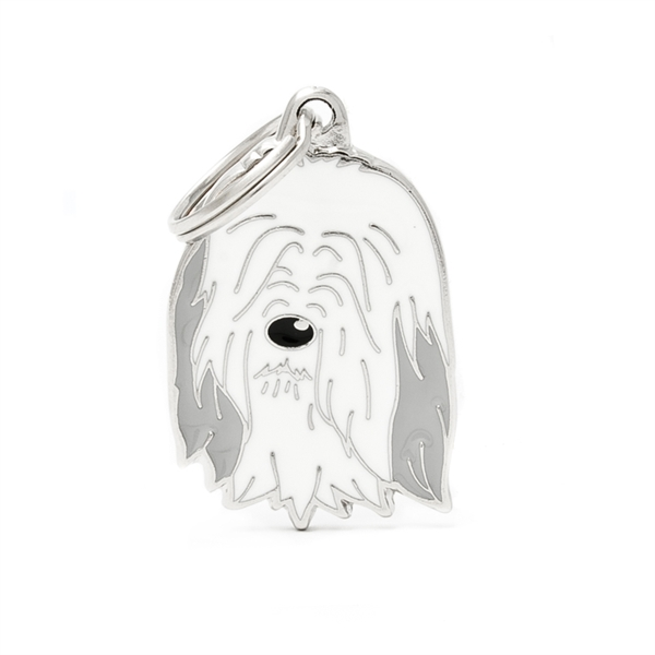 Image of   Bearded Collie hundetegn