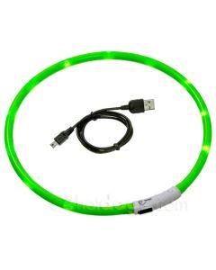 Visio Light Lyshalsbånd -Grøn