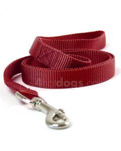Hunter Vario hundesnor i nylon-Rød-1 cm