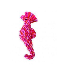 Søhest i bomuldsreb-Pink/multi