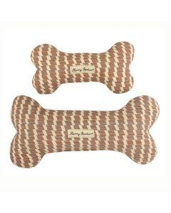 Sweetgrass kanvas kødben-Brun-S: 20cm lang, 10cm bred