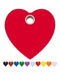 Kattetegn med hjerte 10 forskellige farver