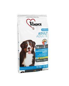 1st Choice Voksen hundefoder Medium/Large, 15 kg
