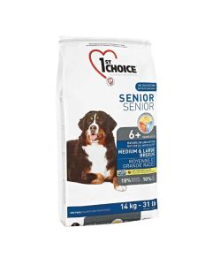 st Choice Senior hundefoder Medium/Large, 14 kg.