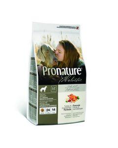 Pronature Holistic Turkey & Cranberries hundefoder, 13,60 kg.