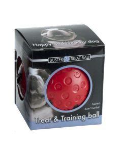 Buster Treat Ball - hundelegetøj-Rød-S