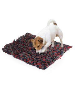 Snusetæppe, aktivitets hundelegetøj