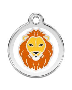 Smart hundetegn med løve
