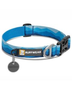 Ruffwear hundehalsbånd Hoopie-Blå-S