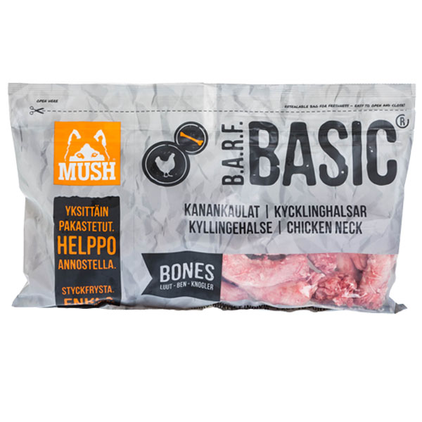 Image of   B.A.R.F Basic® Kyllingehalse 800g